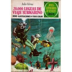 JOYAS LITERARIAS JUVENILES. Núm 4. 20,000 LEGUAS DE VIAJE SUBMARINO