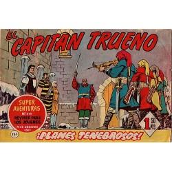 EL CAPITÁN TRUENO Núm 267. ¡PLANES TENEBROSOS!