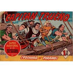 EL CAPITÁN TRUENO Núm 327. ¡TOCHIRO, EL TIRANO!