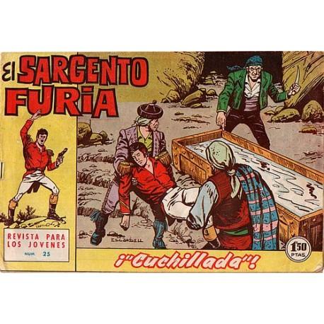 EL SARGENTO FURIA Núm. 25