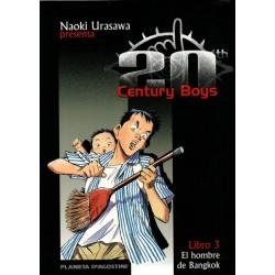 20th CENTURY BOYS Núm. 3 EL HOMBRE DE BANGKOK
