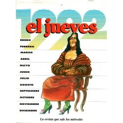 EL JUEVES CALENDARIO 1992
