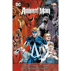 ANIMAL MAN: EL REINO ROJO