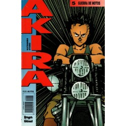 AKIRA Núm 5: GUERRA DE MOTOS
