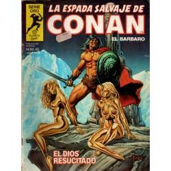 LA ESPADA SALVAJE DE CONAN Núm 45