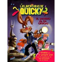 """LAS AVENTURAS DE QUICKY """"EL MISTERIO DE LAS ORTIGAS"""""""