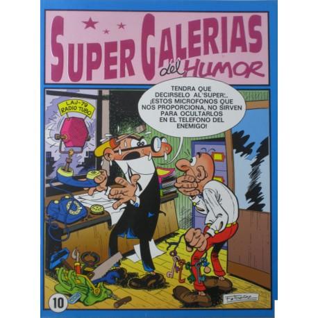 SUPER GALERIAS DEL HUMOR. NÚM.10 RETAPADO.