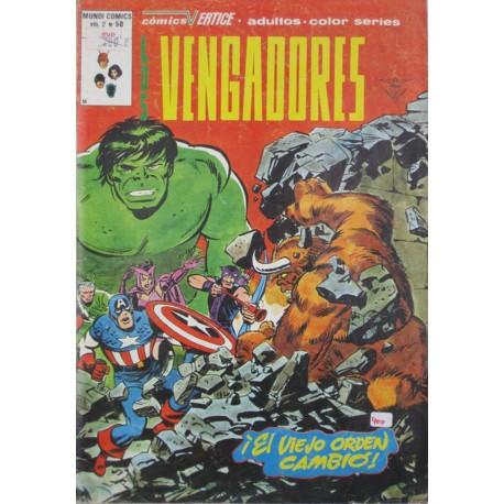 LOS VENGADORES VOL 2,Núm 50. EL VIEJO ORDEN CAMBIÓ