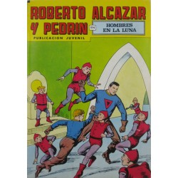 """ROBERTO ALCAZAR Y PEDRÍN  Núm. 209. """" HOMBRES EN LA LUNA"""""""