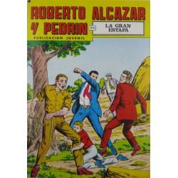 """ROBERTO ALCAZAR Y PEDRÍN  Núm. 212. """" LA GRAN ESTAFA""""."""