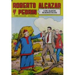 """ROBERTO ALCAZAR Y PEDRÍN  Núm. 213. """" LOS RAYOS MAGNÉTICOS"""""""