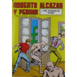 """ROBERTO ALCAZAR Y PEDRÍN  Núm. 215. """" SALVADO DE LA SILLA ELÉCTRICA""""."""