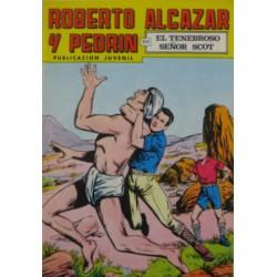 """ROBERTO ALCAZAR Y PEDRÍN  Núm 129. """" EL TENEBROSO SEÑOR SCOT"""""""