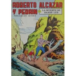 """ROBERTO ALCAZAR Y PEDRÍN  Núm 40. """" LA MUERTE DE DANDU LUB""""."""