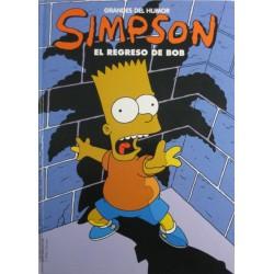 """SIMPSON """"EL REGRESO DE BOB"""" Núm 12"""
