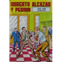 """ROBERTO ALCAZAR Y PEDRÍN  Núm. 218. """" LOS DOS RIVALES"""""""