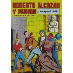 """ROBERTO ALCAZAR Y PEDRÍN  Núm. 222. """" LA LEYENDA INDIA"""""""