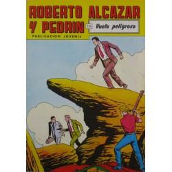 "ROBERTO ALCAZAR Y PEDRÍN  Núm. 225. "" VUELO PELIGROSO""."