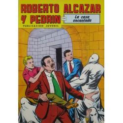 """ROBERTO ALCAZAR Y PEDRÍN  Núm. 226. """" LA CASA ENCANTADA""""."""