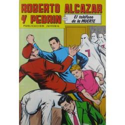 """ROBERTO ALCAZAR Y PEDRÍN  Núm. 228. """" EL TELEFONO DE LA MUERTE"""""""