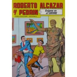 """ROBERTO ALCAZAR Y PEDRÍN  Núm. 230. """" ENIGMA EN EL LOUVRE""""."""