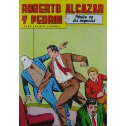 """ROBERTO ALCAZAR Y PEDRÍN  Núm. 231. """" PÁNICO EN LOS NEGOCIOS""""."""