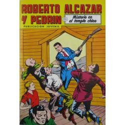 """ROBERTO ALCAZAR Y PEDRÍN  Núm. 235. """" MISTERIO EN EL TEMPLO CHINO""""."""