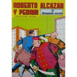"""ROBERTO ALCAZAR Y PEDRÍN  Núm. 236. """"EL DOCUMENTO SECRETO""""."""