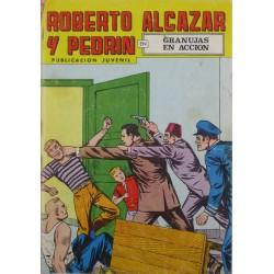 """ROBERTO ALCAZAR Y PEDRÍN  Núm. 101. """" GRANUJAS EN ACCIÓN""""."""