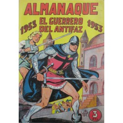 EL GUERRERO DEL ANTIFAZ. ALMANAQUE 1953. REEDICIÓN