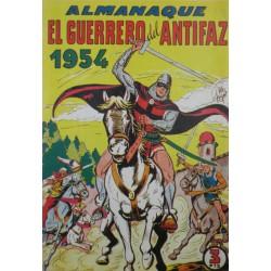 EL GUERRERO DEL ANTIFAZ. ALMANAQUE 1954. REEDICIÓN
