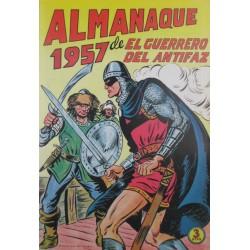 EL GUERRERO DEL ANTIFAZ. ALMANAQUE 1957. REEDICIÓN