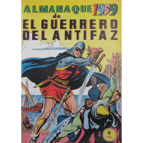 EL GUERRERO DEL ANTIFAZ. ALMANAQUE 1958. REEDICIÓN