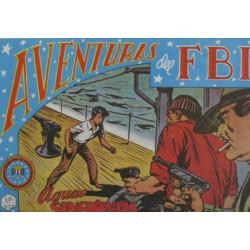 "AVENTURAS DEL FBI. Núm. 38 "" AGUAS SANGRIENTAS""."