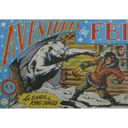 "AVENTURAS DEL FBI. Núm. 39 "" LA BANDA DE KING DINGO""."