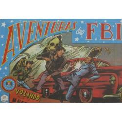 "AVENTURAS DEL FBI. Núm. 44 "" VOLANDO HACIA LA MUERTE""."