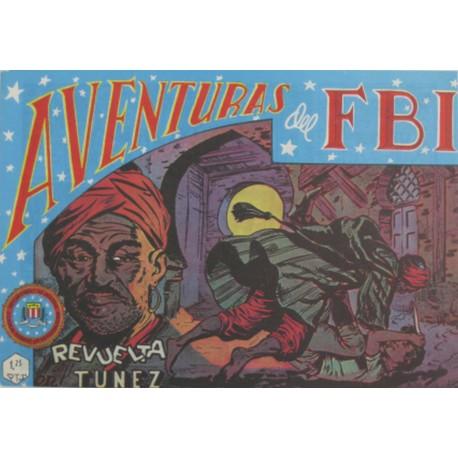 "AVENTURAS DEL FBI. Núm. 46 "" REVUELTA EN TUNEZ""."