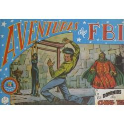 """AVENTURAS DEL FBI. Núm. 50 """" EN LOS DOMINIOS DE CHANG TSE""""."""