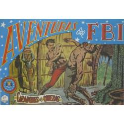 """AVENTURAS DEL FBI. Núm. 51 """" CAZADORES DE CABEZAS""""."""