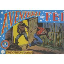 """AVENTURAS DEL FBI. Núm. 62 """" TRAFICANTES DE DIVISAS"""""""