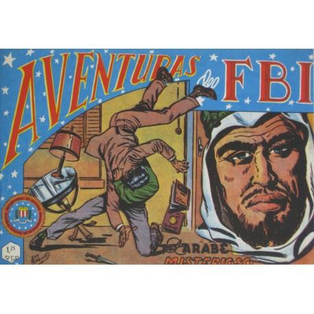 "AVENTURAS DEL FBI. Núm. 64 ""EL ÁRABE MISTERIOSO""."