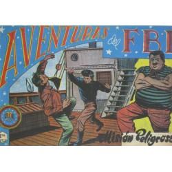 "AVENTURAS DEL FBI. Núm. 72 ""MISIÓN PELIGROSA""."