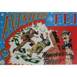"""AVENTURAS DEL FBI. Núm. 114 """" MONEDEROS FALSOS """"."""