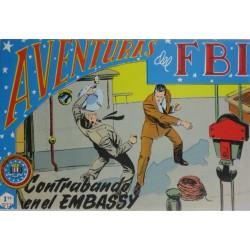 """AVENTURAS DEL FBI. NÚM. 118 """"CONTRABANDO EN EL EMBASSY""""."""