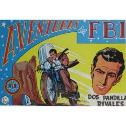 """AVENTURAS DEL FBI. Núm. 123 """" DOS PANDILLAS RIVALES""""."""