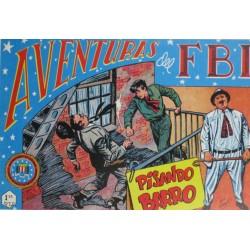 """AVENTURAS DEL FBI. Núm. 128 """" PISANDO BARRO """"."""