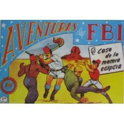 """AVENTURAS DEL FBI. Núm. 139 """"EL CASO DE LA MOMIA EGIPCIA """"."""