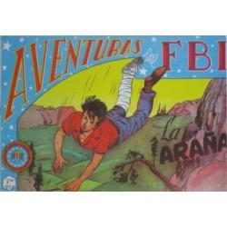 "AVENTURAS DEL FBI. Núm. 142 "" LA ARAÑA ""."