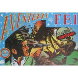 """AVENTURAS DEL FBI. Núm. 144 """" LA ESCUADRILLA FANTASMA """"."""