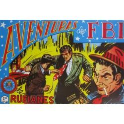 "AVENTURAS DEL FBI. NÚM. 150 "" AGENCIA DE RUFIANES""."